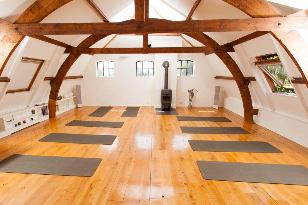 De yogazaal